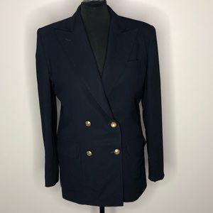Vintage Ralph Lauren captain's jacket navy